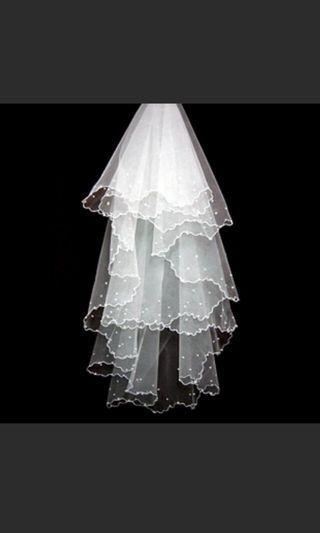 Veil white wedding
