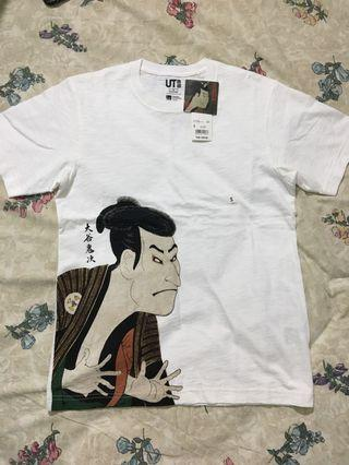 Uniqlo ukiyo-e T shirt