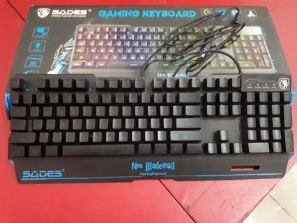 Keyboard & mouse sades Neo Blademail