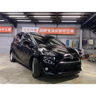 2017 Toyota Sienta 七人座 1.8 太空黑 非自售 代步車 實車實價