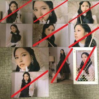 [WTB] TWICE ONCE HALLOWEEN 2 TRADING CARDS