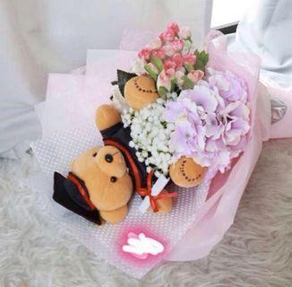 Artificial Graduation Flower Bouquet