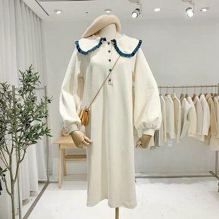 《冬季 新款》超美日系泡泡袖娃娃領洋裝