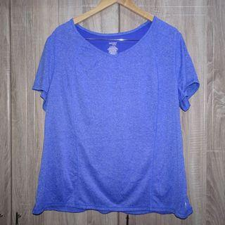 (2-3XL) Danskin Now Dri-More workout tee, super nice in actual and almost looks new