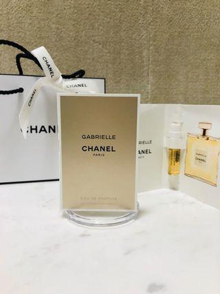 嘉柏麗香水1.5ml x2 附紙袋緞帶 Chanel