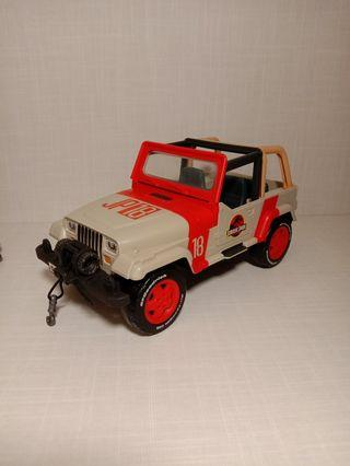 Jurassic Park Jeep and Star Wars Resistance figure