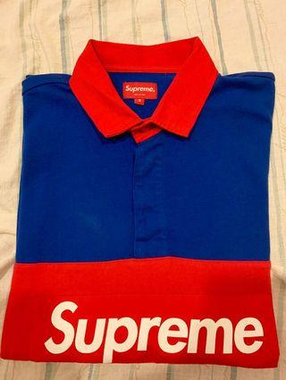 Supreme 16s rugby polo衫