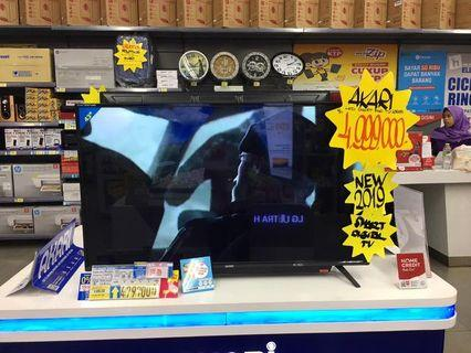 """Kredit LED TV AKARI 43"""" SmarTv, Bisa Kredit"""