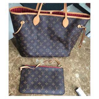 LV 子母袋 購物袋 超值