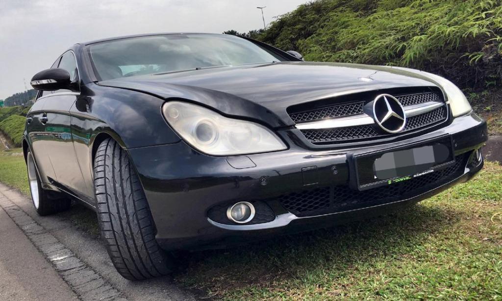 2006/11 Mercedes Benz CLS350 (CBU) 3.5 (A) B/L LOAN KEDAI DP 5K
