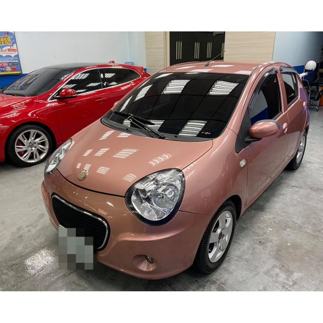 2010 TOBE/酷比 M CAR 熊貓 一手女用車、純跑6萬、內裝精美、頂級版4安、0989-884-500 阿榮