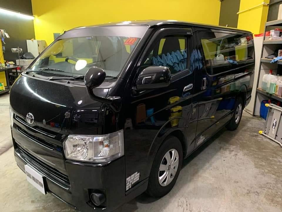 2018 TOYOTA HIACE 3.0A DIESEL FOR LEASING