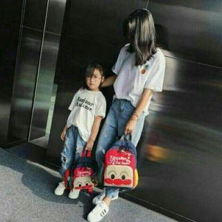 【現貨】大人款 麵包超人 尼龍後背包 旅行 運動 後背書包