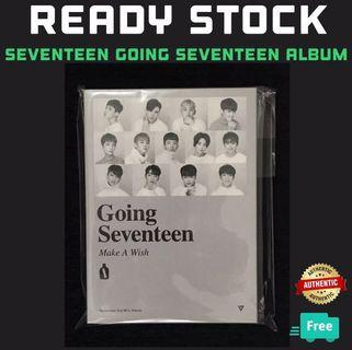 GOING SEVENTEEN ALBUM WITH POSTER