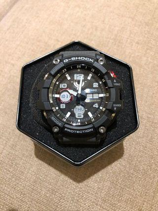 CASIO G-SHOCK/時間悍將勇者運動腕錶/GSG-100-1A8DR