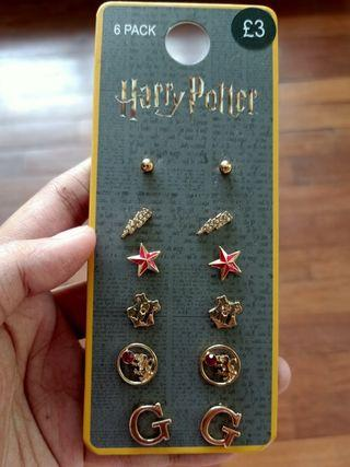 💎 Official Primark Harry Potter Gryffindor Earrings Set 💎