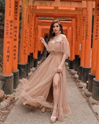 Apartment 8 inspired Gown for rent