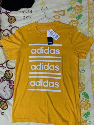 Adidas 黃色 S號 全新吊牌未拆 可議價