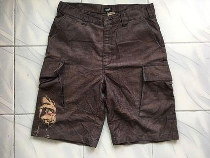 Rare XLARGE corduroy short pants