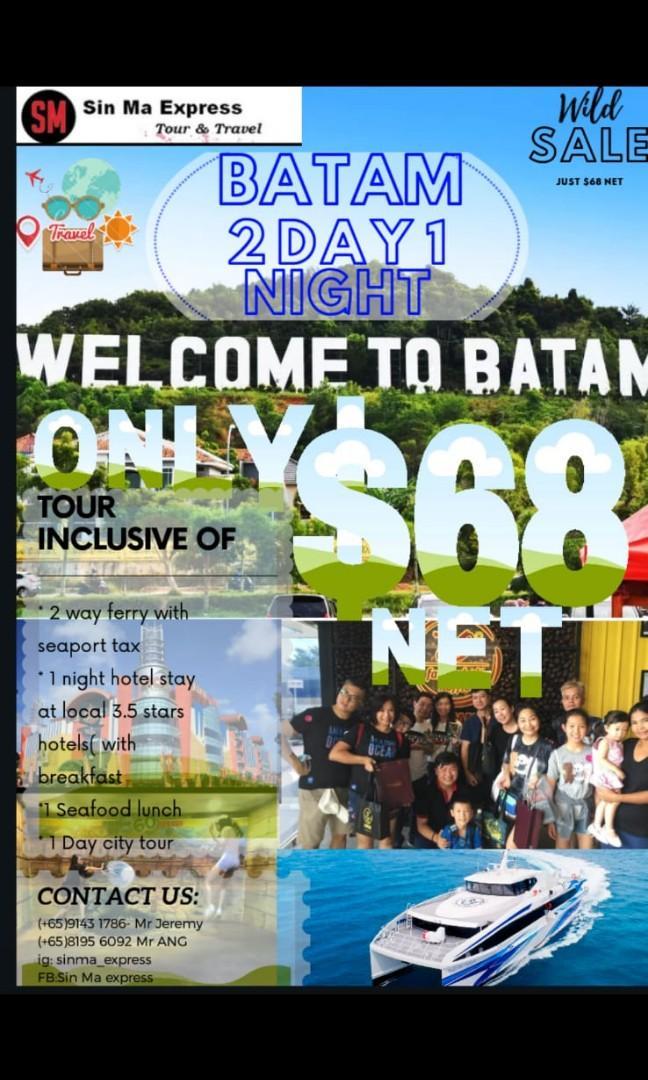 2day1night batam hot deals!