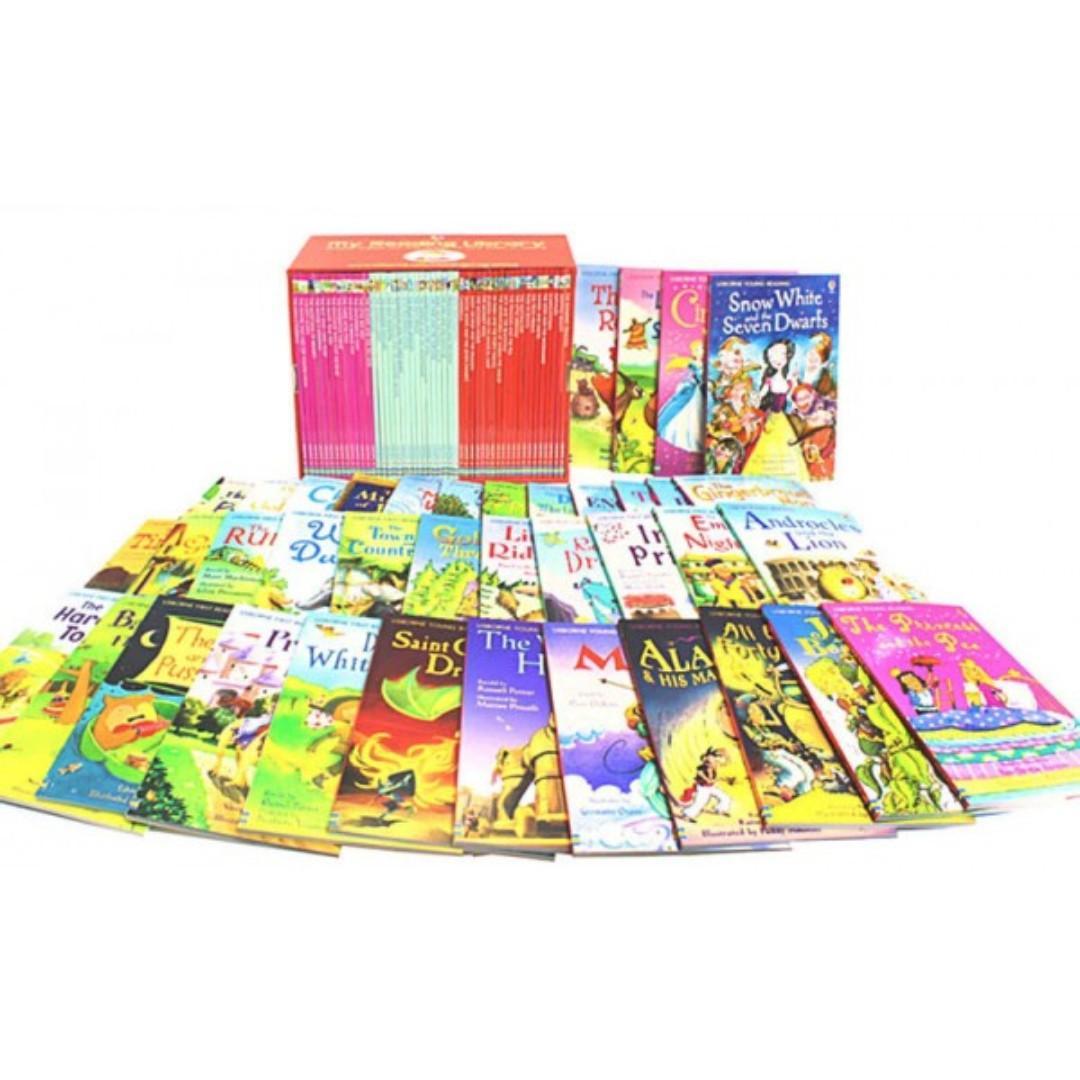 2nd Library Usborne 50 Storybooks Brand new