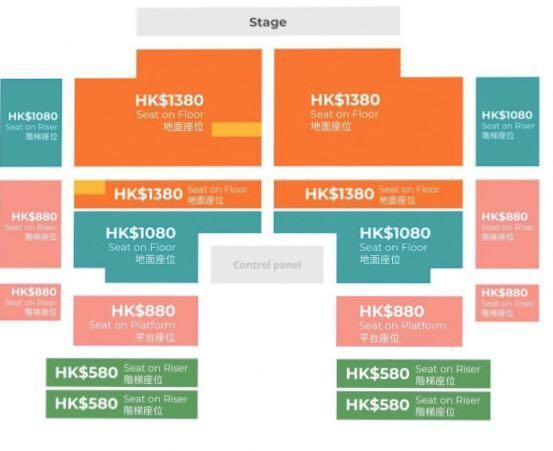 放 周杰倫嘉年華演唱會門票 多種價錢選擇