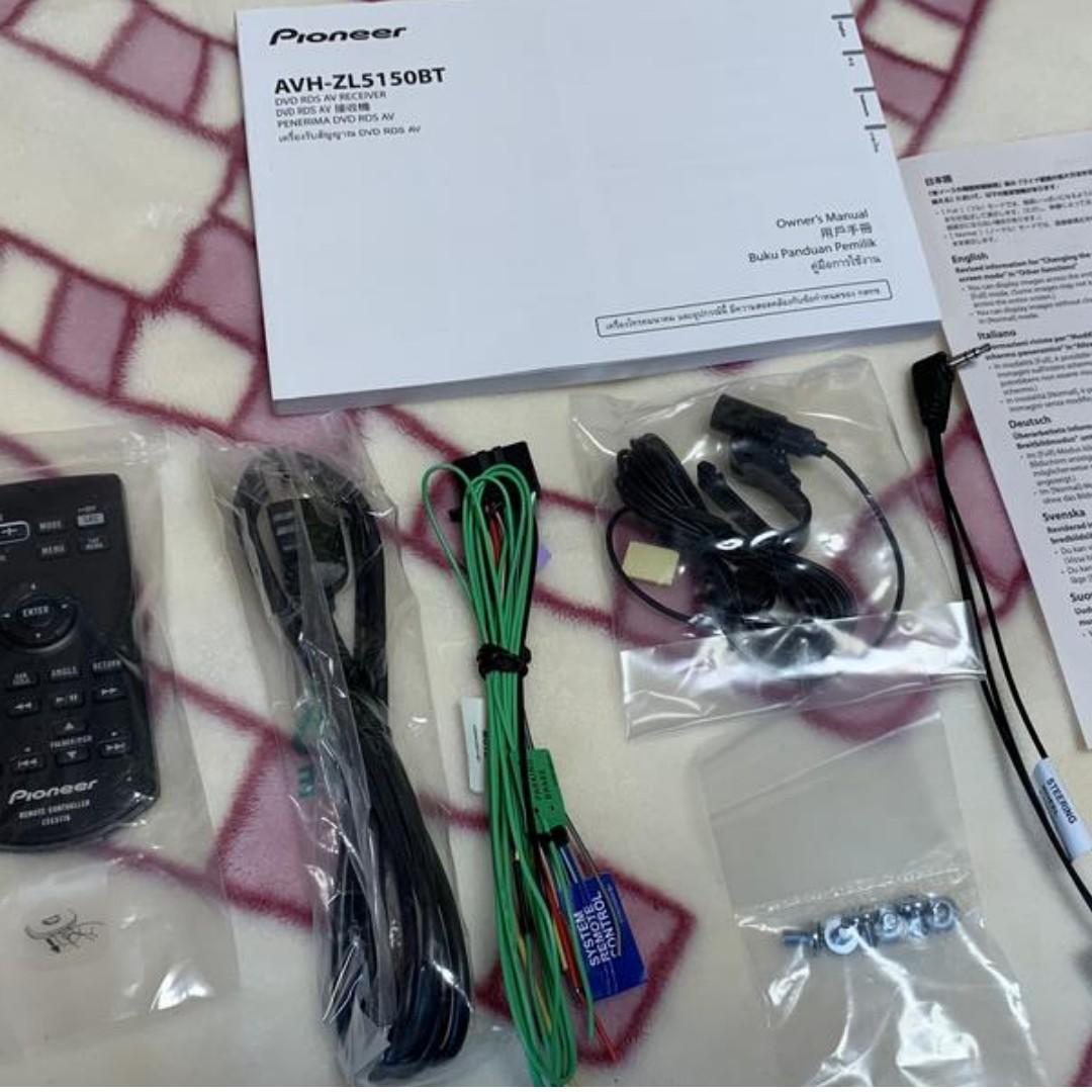 先鋒 AVH-ZL5150BT 新款蘋果 Carplay 速霸陸 BRZ OUTBACK 森林人 豐田86 RAV4專用