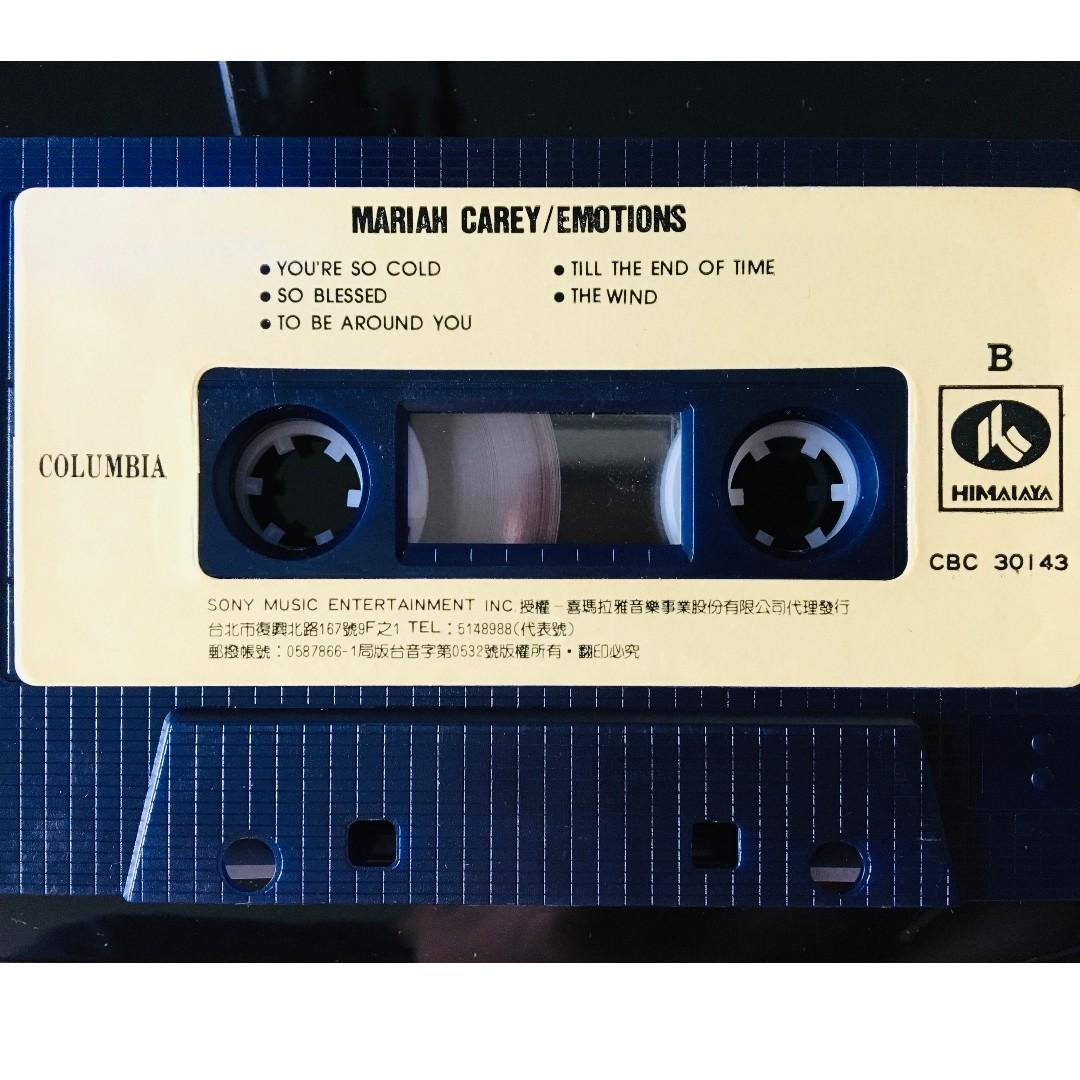 [老搖滾典藏] Mariah Carey-Emotions 首發錄音帶(含運費)