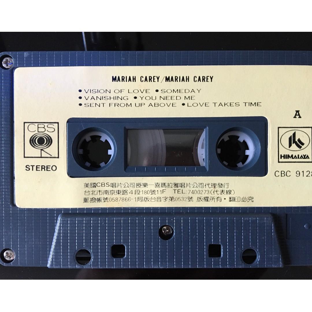 [老搖滾典藏] Mariah Carey-Mariah Carey 首發錄音帶(含運費)