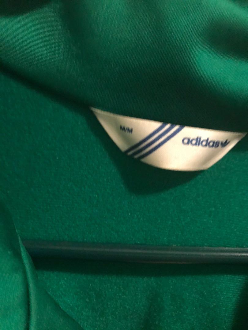Adidas Green Track Jacket From Aritzia Size Medium