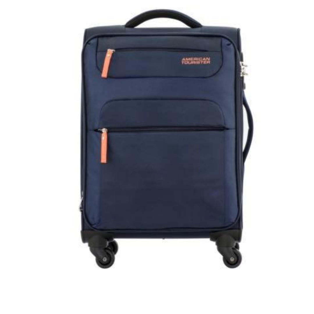 AMERICAN TOURISTER 55CM ULTRA LIGHTWEIGHT EXPANDABLE SPINNER