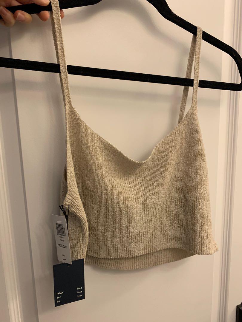 Aritzia Knit Crop top