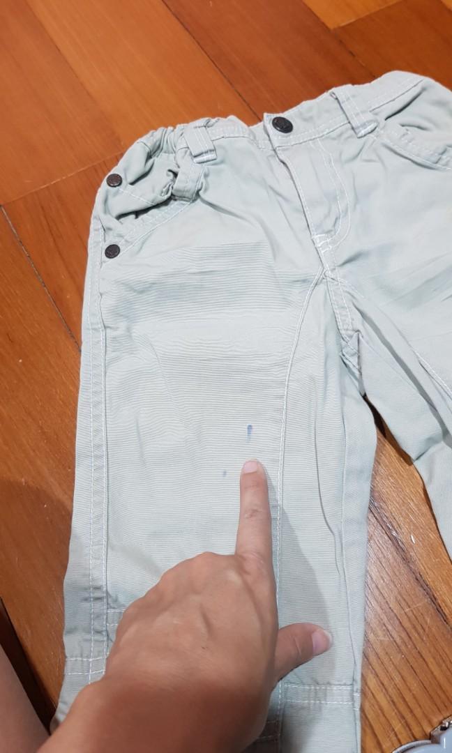 Baby Fox Cargo Pants 2T