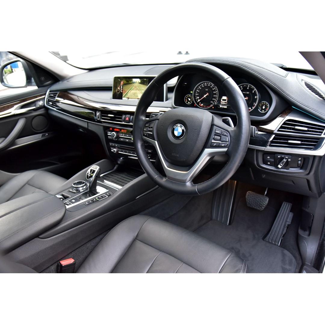 BMW X6 XDRIVE 50IA 2015