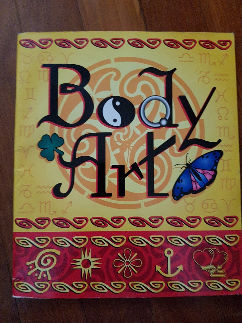 Body Art Books Stationery Fiction On Carousell