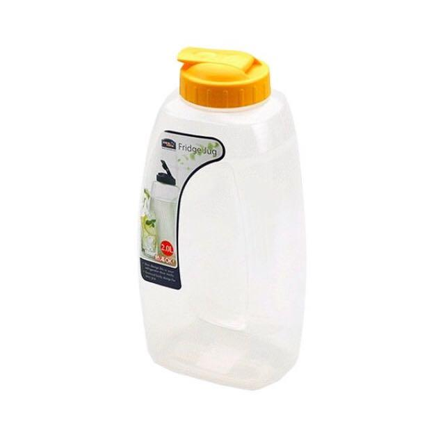 Botol Minum Fridge Jug Lock&Lock 2 L Yellow
