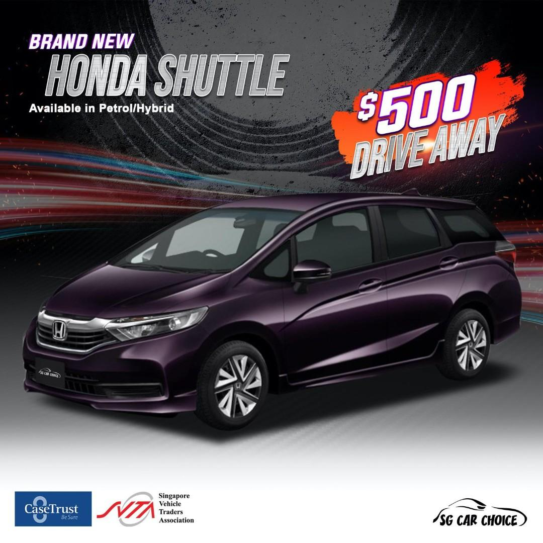 Honda shuttle for rent , Cheap rental, brand new