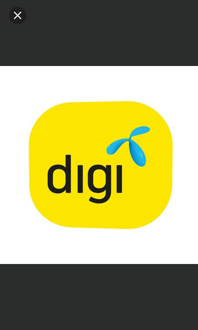 Digi sim card 3days unlimited data! Malaysia sim card