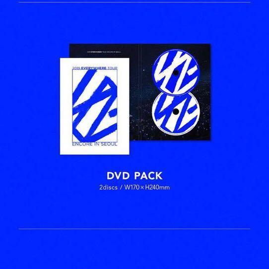 [DVD+LIVE CD]WINNER - 2019 WINNER EVERYWHERE TOUR ENCORE IN SEOUL