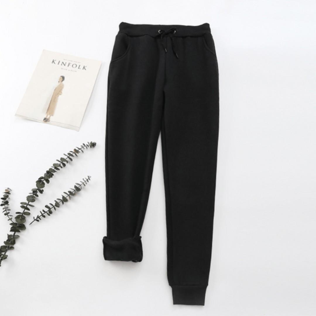Fleece Sweatpants | Brand New Ready Stocks | Size M- XL Available | K-Fashion | Sale