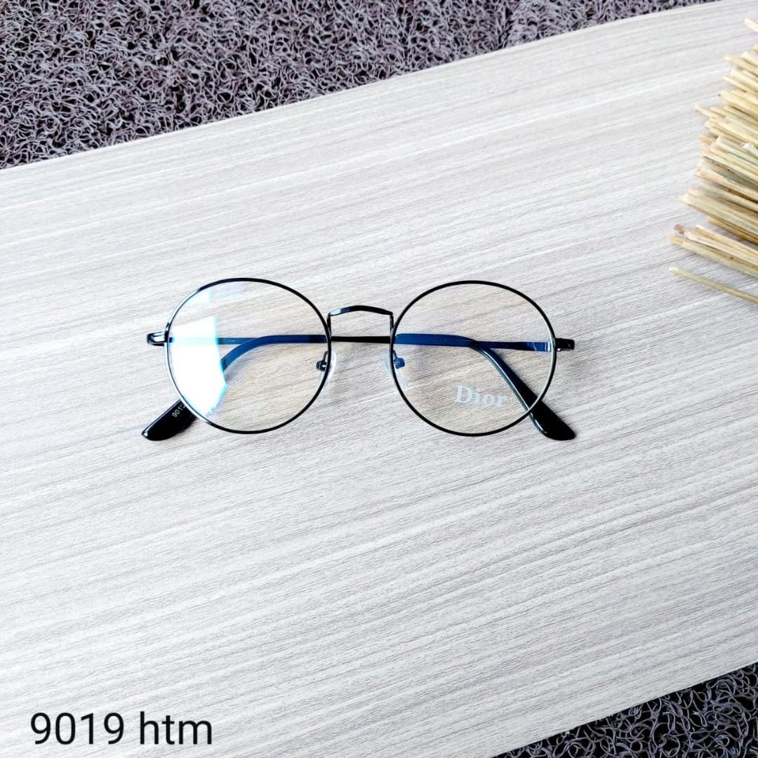 Frame kacamata 9019 & lensa -/+/cylinder