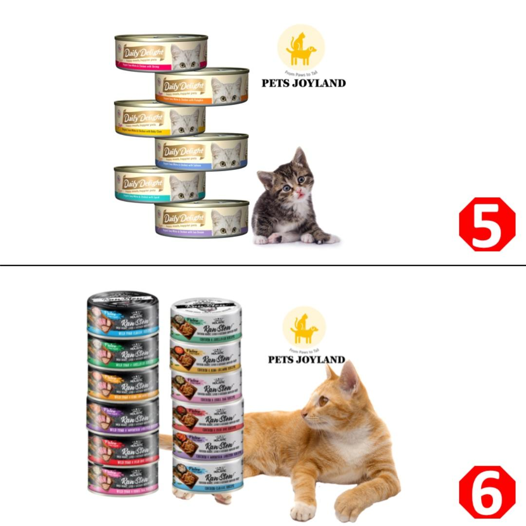 [FREE DELIVERY/Min 2 Cartons] Canned Wet Food for CATS