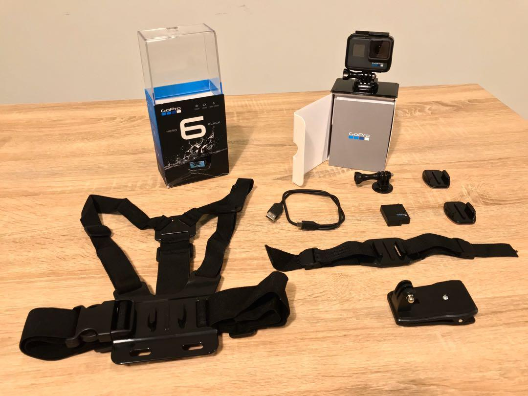 GoPro Hero 6 Black (plus accessories)