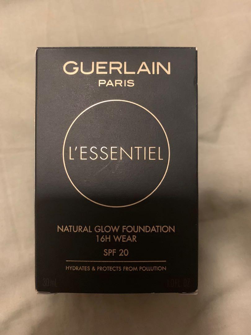 Guerlain Paris foundation natural glow amber warm 045w