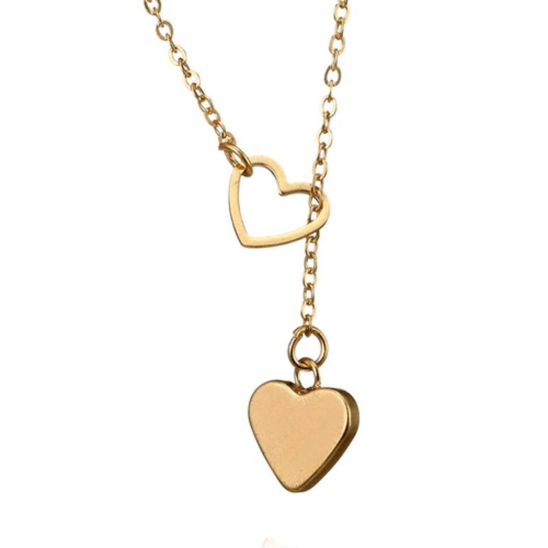 Heart Choker Necklace   Brand New Ready Stocks   SALE