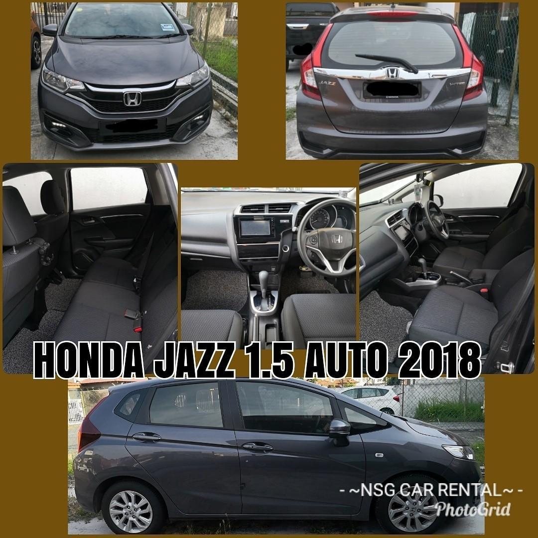 Honda Jazz 1.5 (A) Kereta Sewa Murah NSG Selangor KL