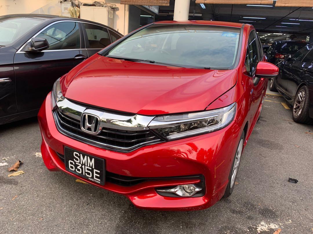 Honda Shuttle Hybrid For Rent