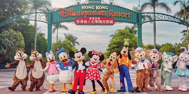 迪士尼 DisneylandPark ticket for kid
