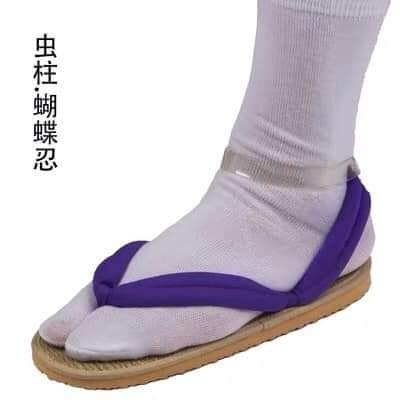 👡KIMETSU NO YAIBA ANIME DEMON SLAYER COSTUME COSPLAYS SHOES SANDALS-11 COLORS👡