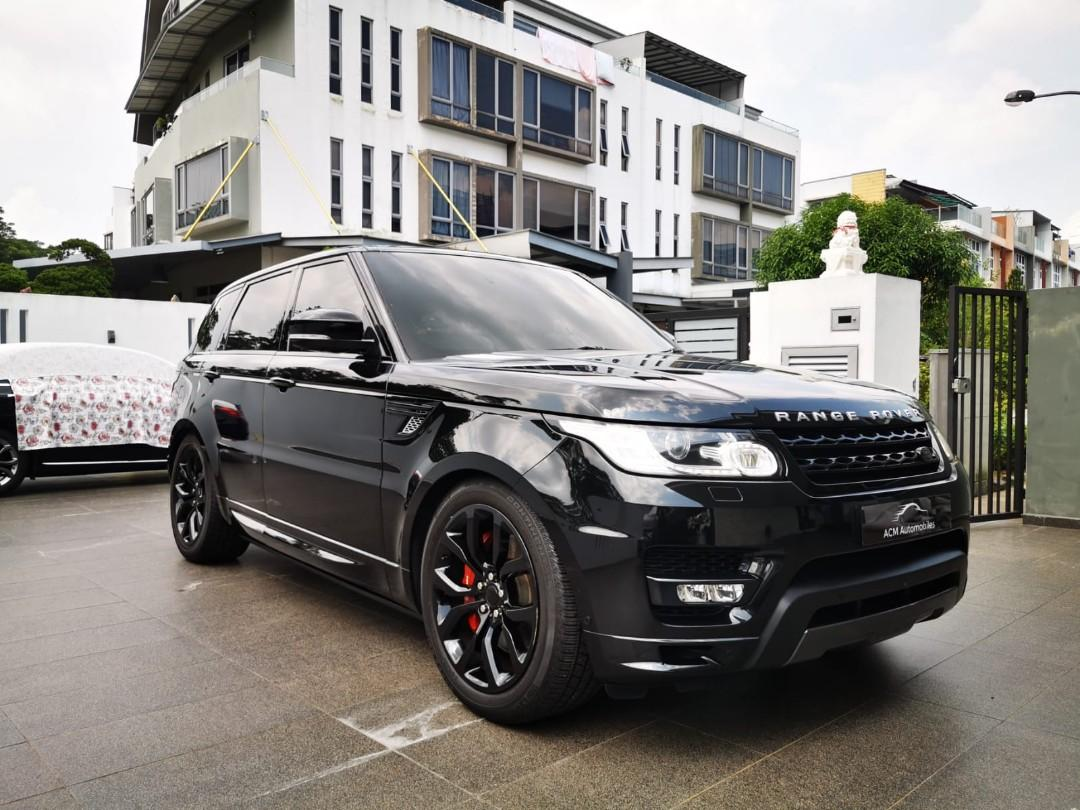 Land Rover Range Rover Sport 5.0 Dynamic (A)biography (A)